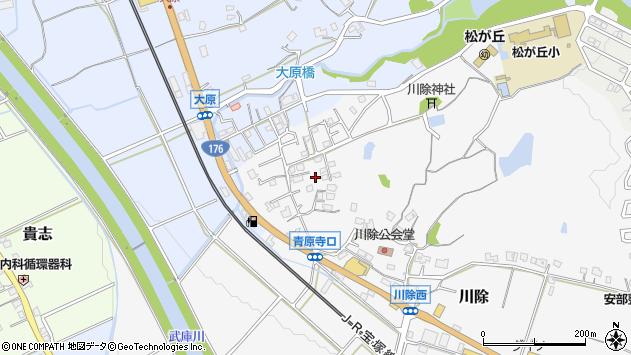 〒669-1514 兵庫県三田市川除の地図