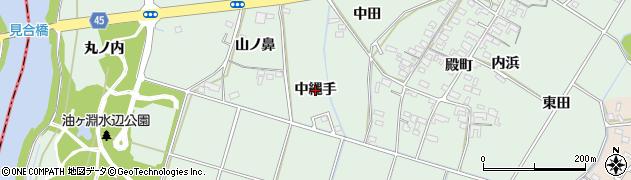 愛知県安城市東端町(中縄手)周辺の地図