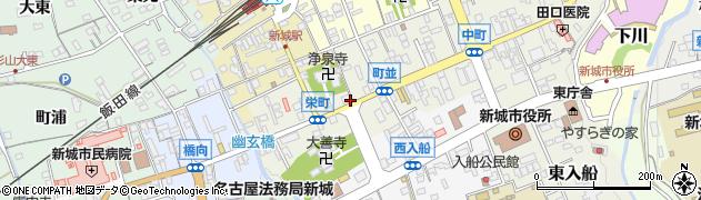 清藤料理店周辺の地図