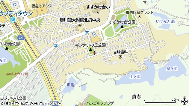 〒669-1322 兵庫県三田市すずかけ台の地図