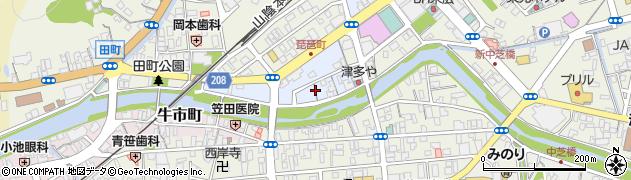 島根県浜田市琵琶町周辺の地図