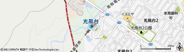 大阪府豊能郡豊能町周辺の地図