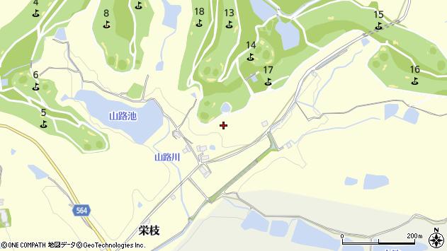 〒673-1332 兵庫県加東市栄枝の地図