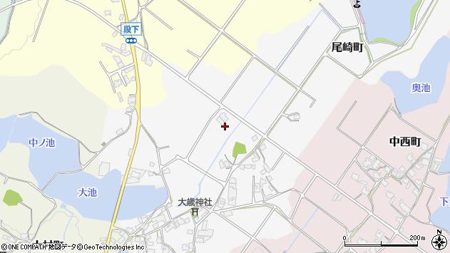 〒675-2242 兵庫県加西市尾崎町の地図