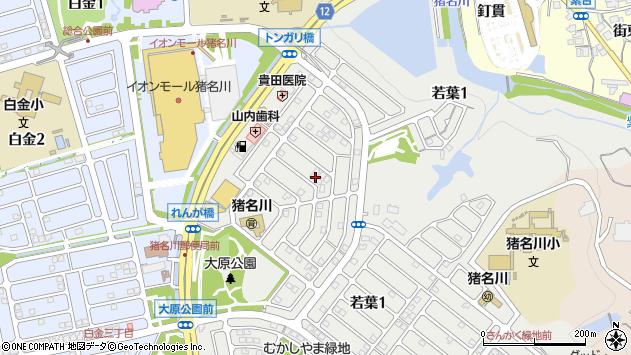 〒666-0251 兵庫県川辺郡猪名川町若葉の地図