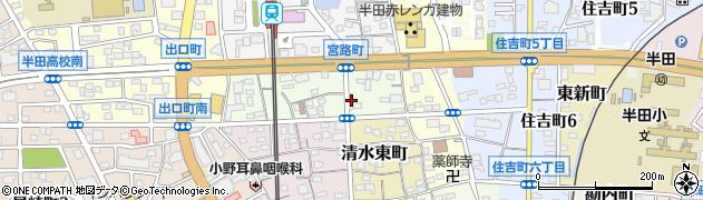 チヅ周辺の地図