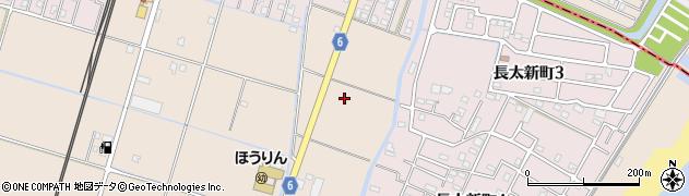 四日市楠鈴鹿線周辺の地図