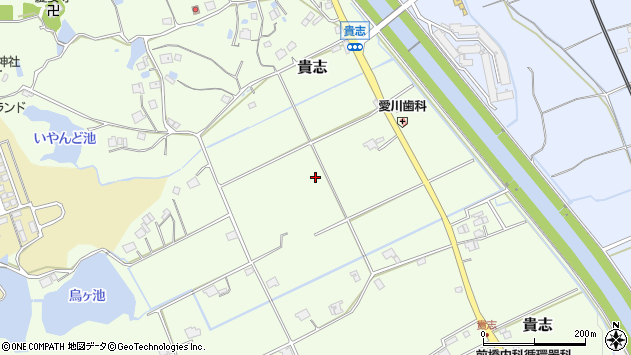 〒669-1541 兵庫県三田市貴志の地図