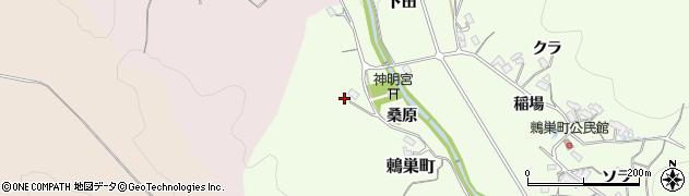 愛知県岡崎市鶇巣町(神守田)周辺の地図