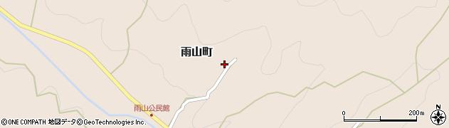 愛知県岡崎市雨山町(入ノコ沢)周辺の地図