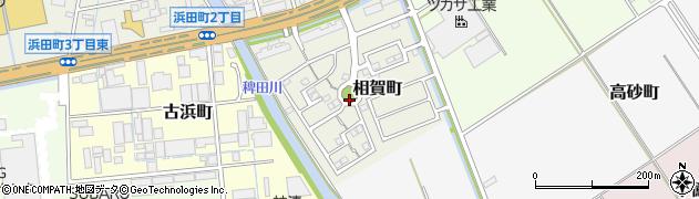 愛知県半田市相賀町周辺の地図