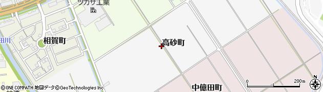 愛知県半田市高砂町周辺の地図