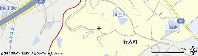 愛知県半田市行人町周辺の地図