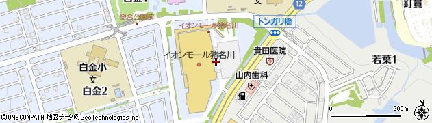 イオンモール猪名川登録身障者専用駐車場周辺の地図