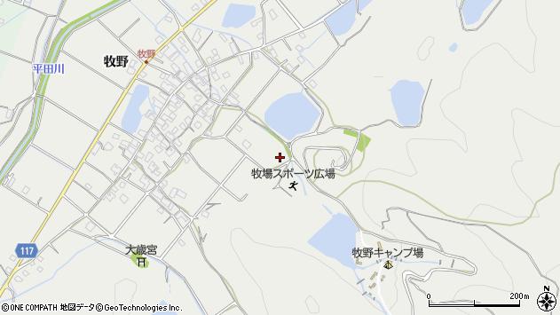 〒679-2114 兵庫県姫路市山田町牧野の地図