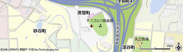 愛知県半田市滑楚町周辺の地図