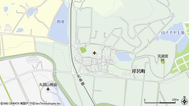 〒675-2333 兵庫県加西市岸呂町の地図