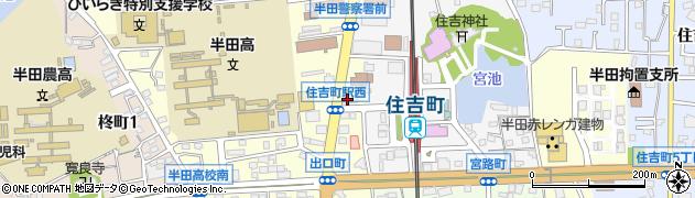 茶里周辺の地図