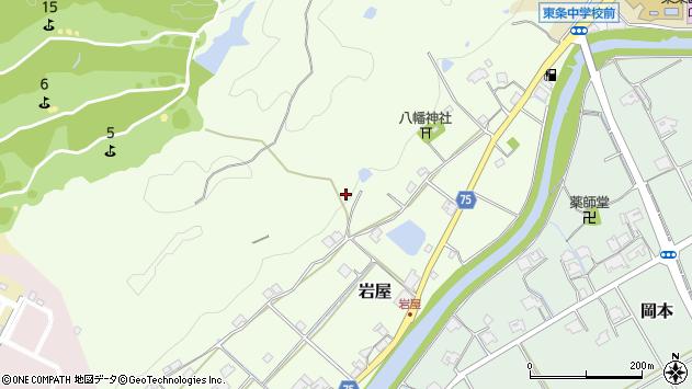 〒673-1321 兵庫県加東市岩屋の地図