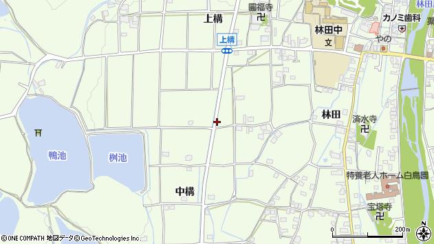 〒679-4203 兵庫県姫路市林田町中構の地図