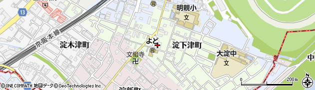 大専寺周辺の地図