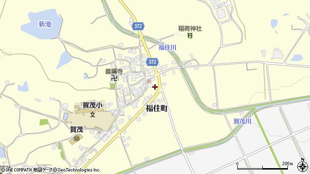 〒675-2334 兵庫県加西市福住町の地図