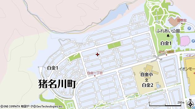 〒666-0257 兵庫県川辺郡猪名川町白金の地図