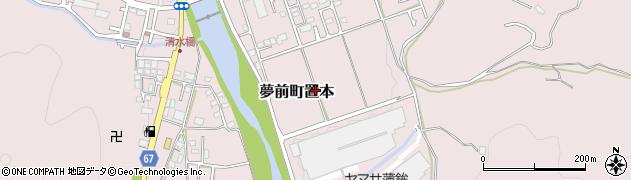 兵庫県姫路市夢前町置本周辺の地図