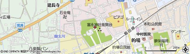 富永神社周辺の地図