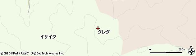 愛知県岡崎市牧平町(クレダ)周辺の地図
