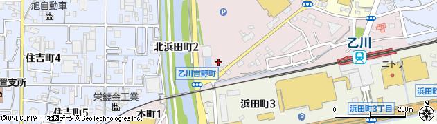 森の石松半田店周辺の地図