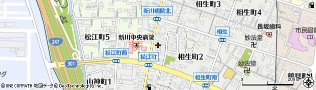 歌姫周辺の地図