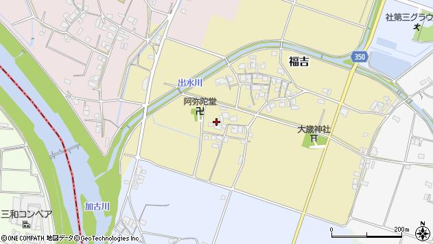 〒673-1443 兵庫県加東市福吉の地図