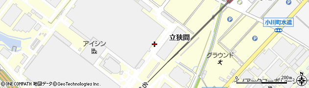 愛知県安城市藤井町(堀切)周辺の地図