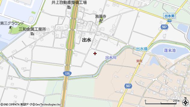 〒673-1442 兵庫県加東市出水の地図