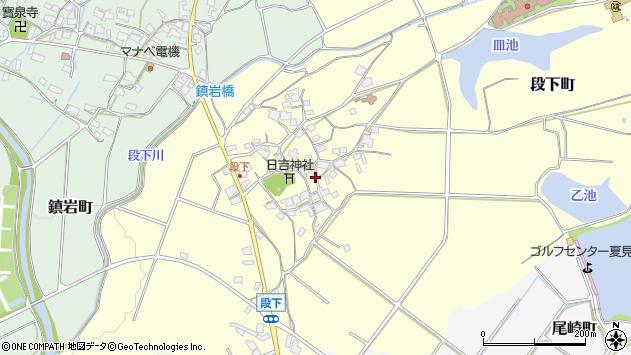 〒675-2241 兵庫県加西市段下町の地図