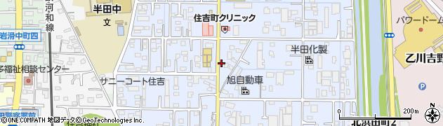 鶴翠周辺の地図