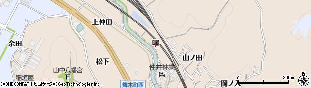 愛知県岡崎市舞木町(曙)周辺の地図