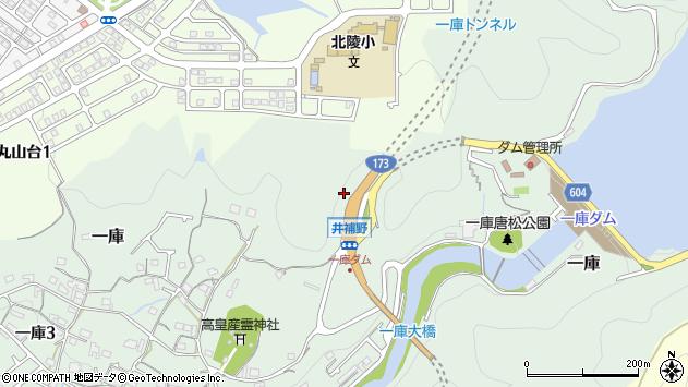〒666-0153 兵庫県川西市一庫の地図