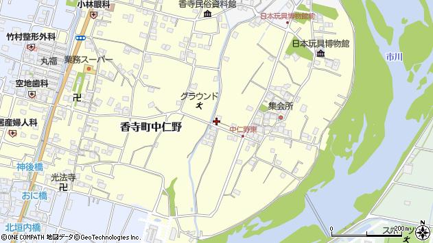 〒679-2143 兵庫県姫路市香寺町中仁野の地図