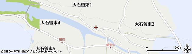 滋賀県大津市大石曽束周辺の地図