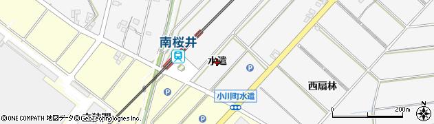 愛知県安城市小川町(水遣)周辺の地図