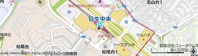 兵庫県川辺郡猪名川町周辺の地図