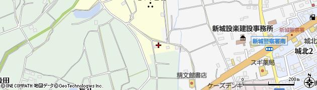 華予約受付周辺の地図