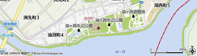 愛知県碧南市油渕町周辺の地図