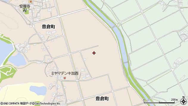〒679-0106 兵庫県加西市豊倉町の地図