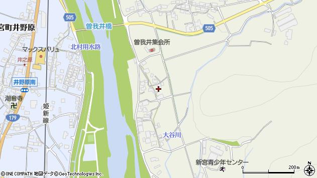〒679-4314 兵庫県たつの市新宮町曽我井の地図