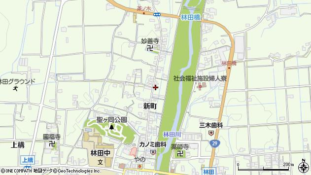 〒679-4205 兵庫県姫路市林田町新町の地図