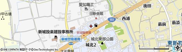 ポカラ(POKHARA) 新城店周辺の地図
