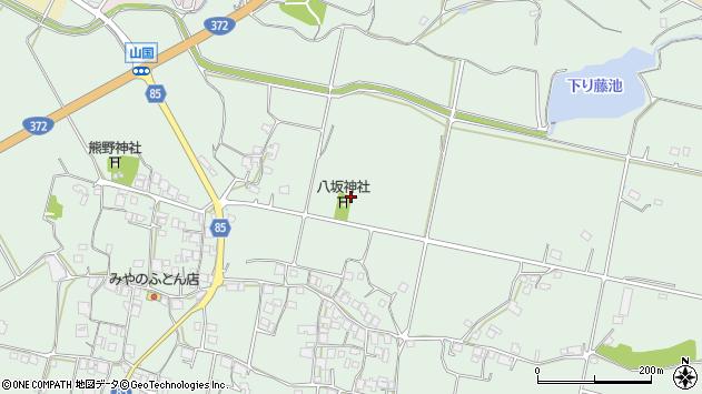 〒673-1421 兵庫県加東市山国の地図